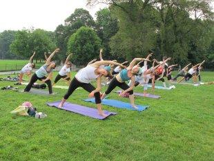 Central Park Workout