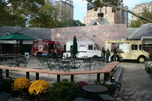 Food Trucks, Tavern on the Green, Central Park, NYC