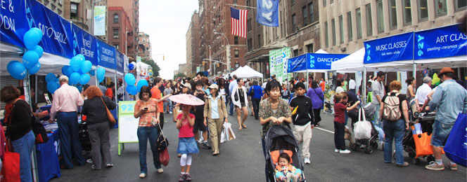 Street festival nyc today