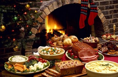 A Christmas Feast at Home