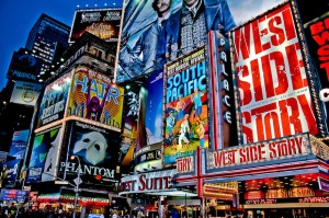 Plays on Broadway in New York