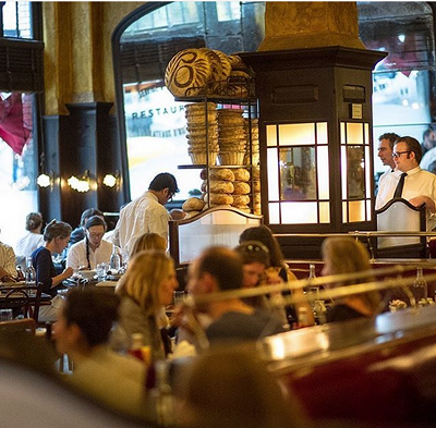 Time to book your dinner reservations here are the james for Balthazar reservations