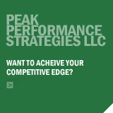 Peak Performance Strategies